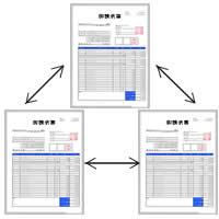 請求書と関連書類について